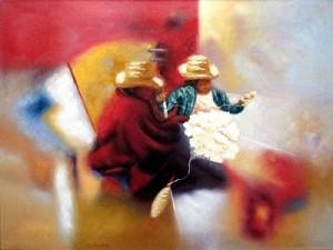 Cholas abstractas (Aníbal Álvarez Castillo)